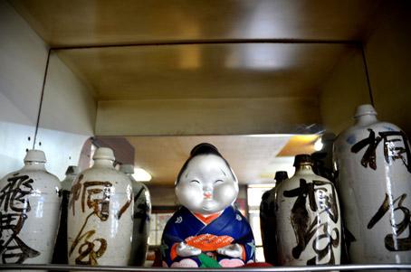 桐屋酒店で使われていた酒壺
