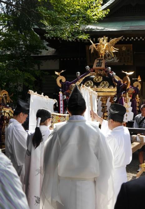 布多天神社例大祭